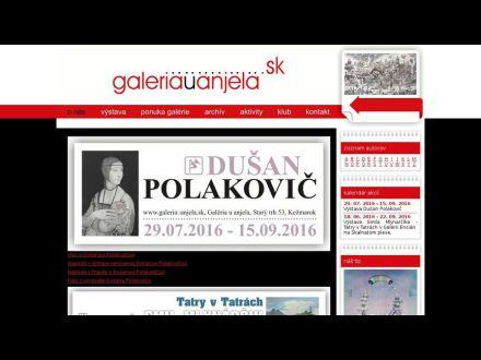 www.galeriauanjela.sk
