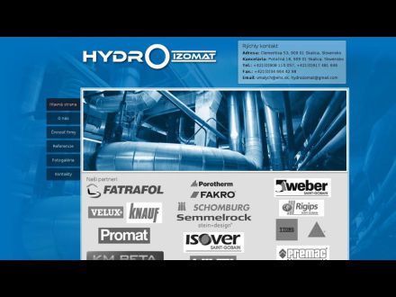 www.hydroizomat.sk