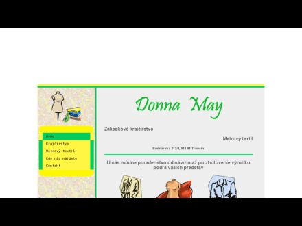 www.donnamay.sk