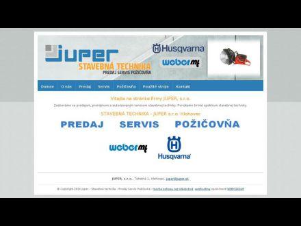 www.juper.sk