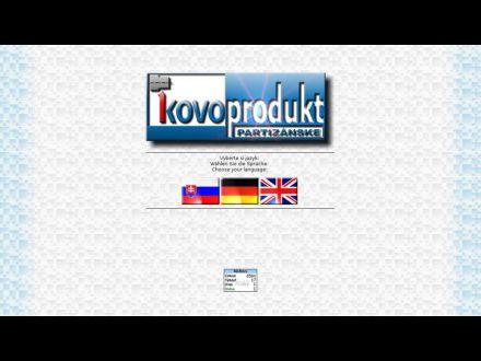 www.kovoprodukt.sk