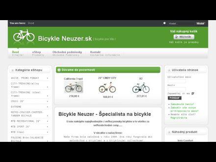 www.bicykleneuzer.sk