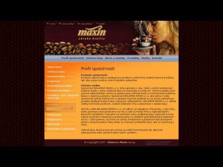 www.maxin.sk