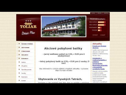 www.hoteltoliar.sk