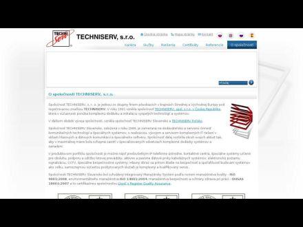 www.techniserv.sk