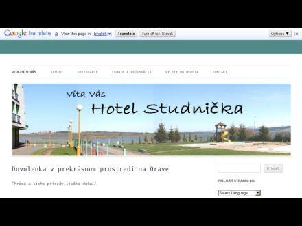 www.hotelstudnicka.sk