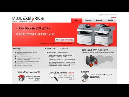 www.mojlexmark.sk