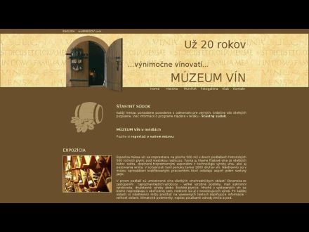 www.muzeumvin.sk