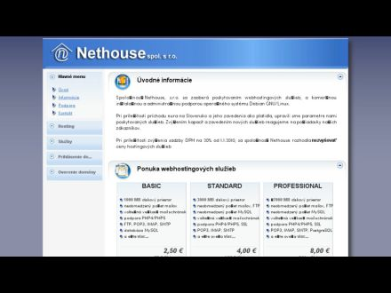 www.nethouse.sk