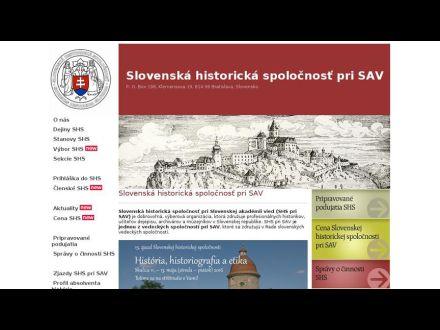 www.shs.sav.sk