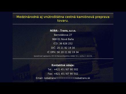 www.nobatrans.sk