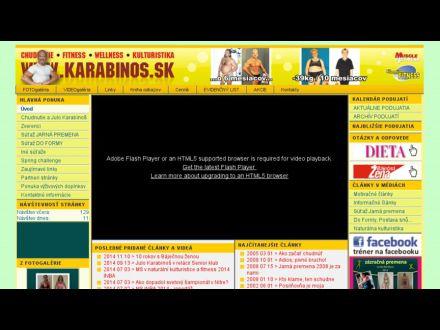 www.karabinos.sk