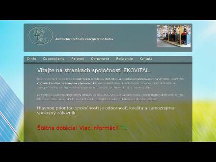 www.ekovital.sk