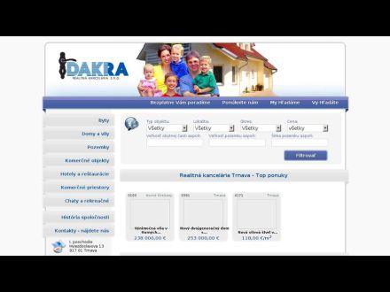 www.dakra.sk