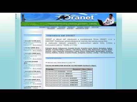 www.oranet.sk