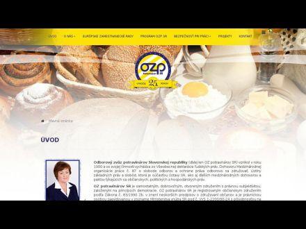 www.ozpotravinarovsr.sk