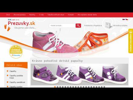 www.prezuvky.sk