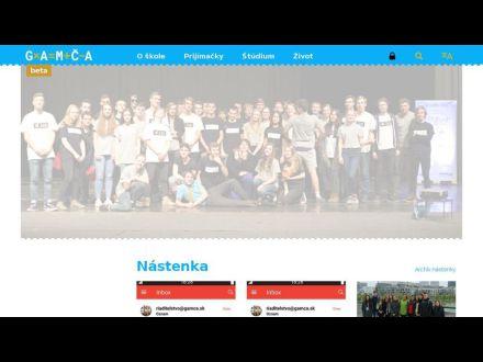 www.gamca.sk