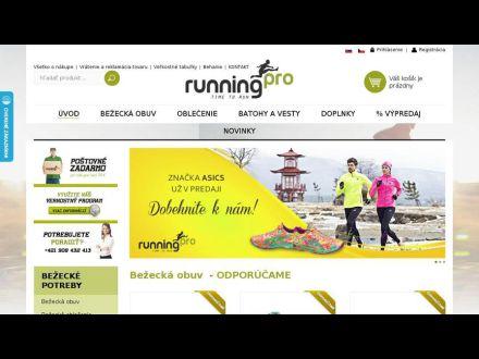www.runningpro.sk