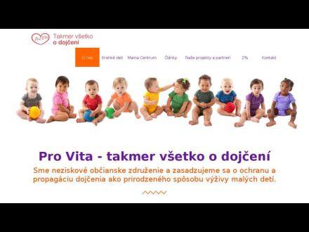 www.provita.sk