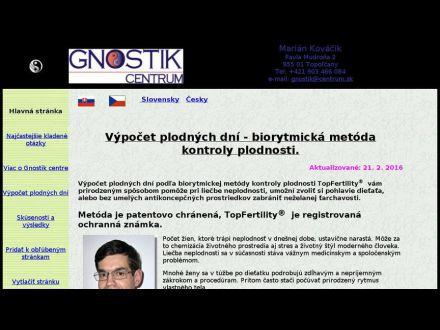 www.gnostik.sk