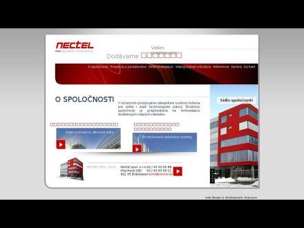 www.nectel.sk
