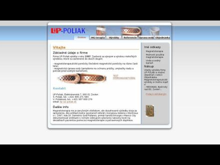 www.poliak.sk