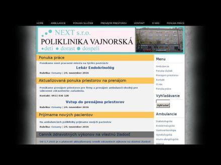 www.poliklinika-vajnorska.sk