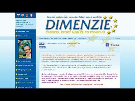 www.casopisdimenzie.sk