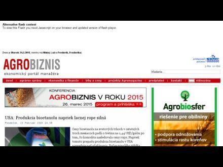 www.agrobiznis.sk