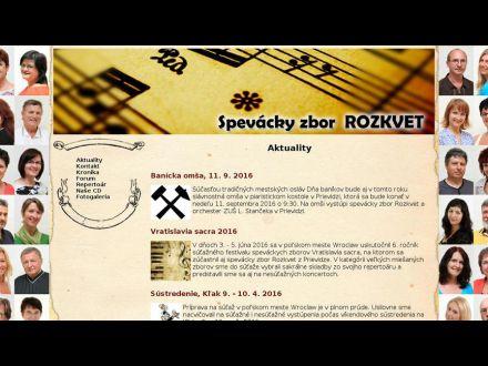 www.rozkvet-zbor.sk