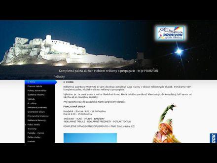 www.prokyon.sk
