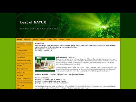 www.bestofnatur.sk