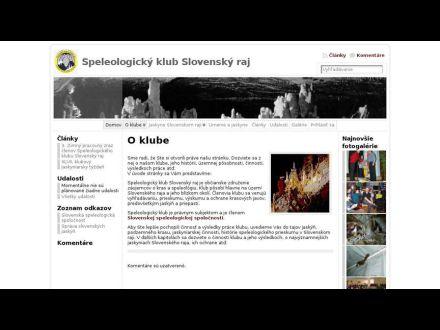 www.speleoraj.sk