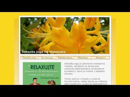 www.sahadzajoga.sk