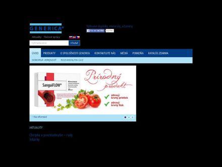 www.generica.sk