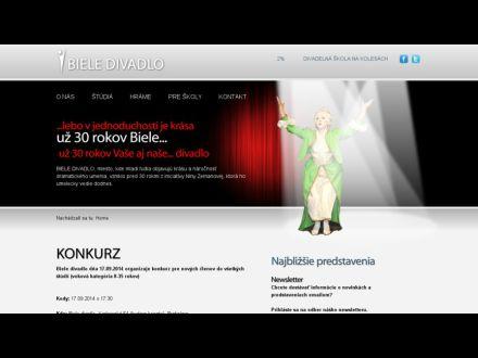 www.bieledivadlo.sk