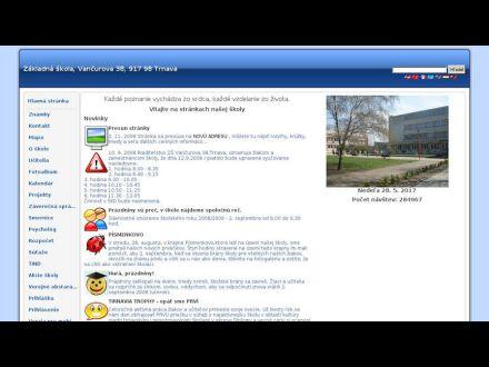 www.zsvancurovatt.edupage.org
