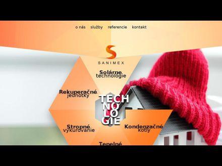 www.sanimex.sk