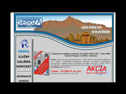 www.sedoza.sk