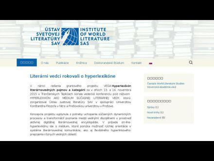 www.usvl.sav.sk