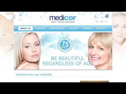 www.medicor.sk