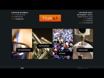 www.tojasf.sk