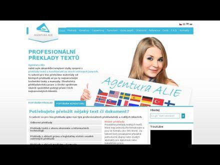 www.alie.cz