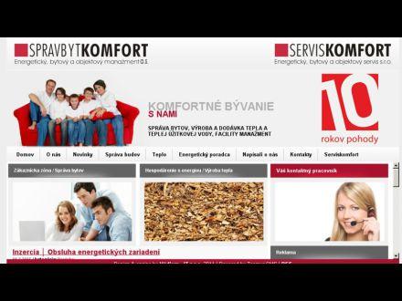 www.spravbytkomfort.sk