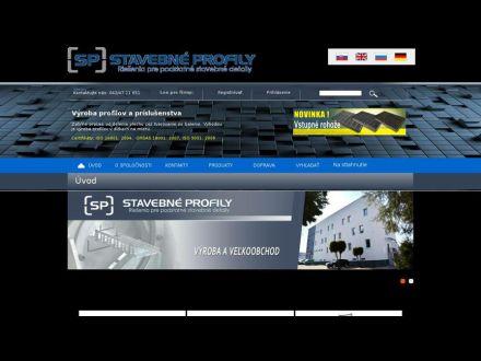 www.stavebneprofily.sk