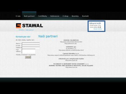 www.stawal.sk