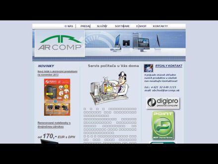 www.arcomp.sk