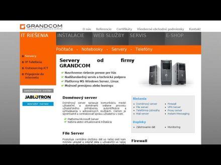www.grandcom.sk