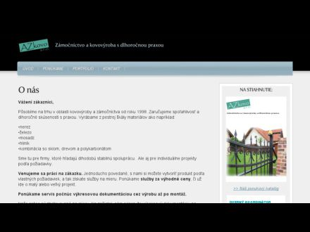 www.azkovo.sk
